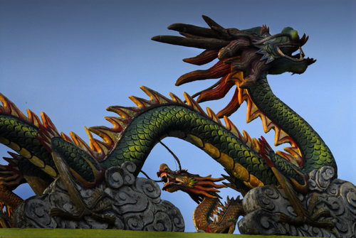 Chinese Dragon Building - Dream