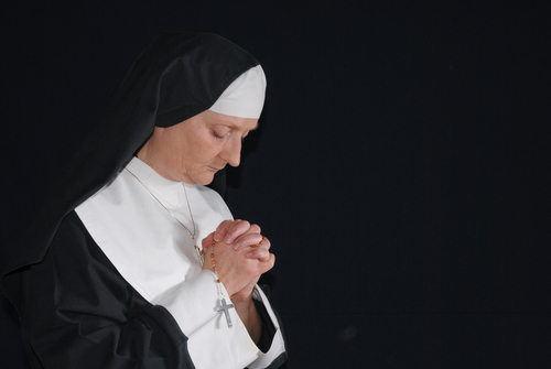 Picture of Nun Praying