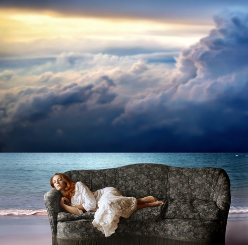 Surreal Sleeping Picture