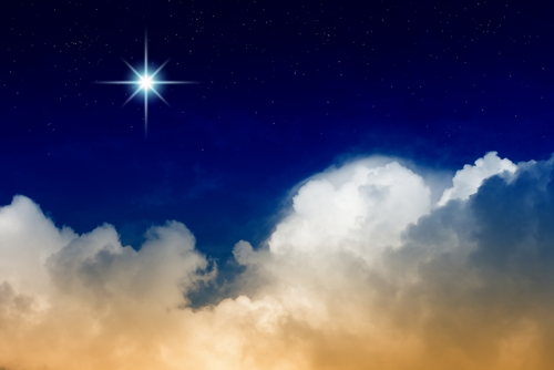 Bright Star in Sky