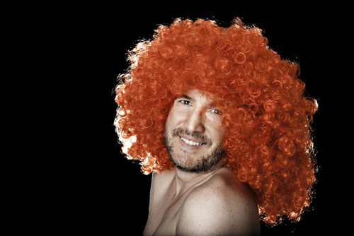 Dreams about a wig - Picture of Man in a Ginger Wig